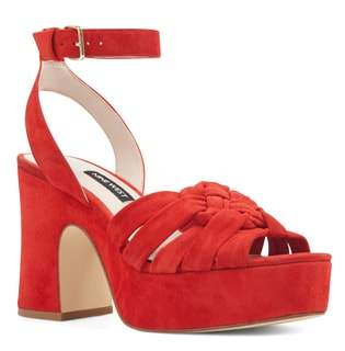Nine West Fetuchini Platform Sandal