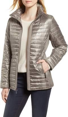 Gallery Hybrid Knit & Nylon Jacket