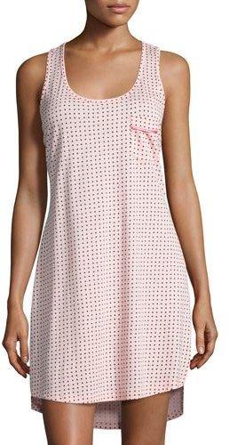 CosabellaCosabella Dot-Print Racerback Nightgown, Pink Pattern