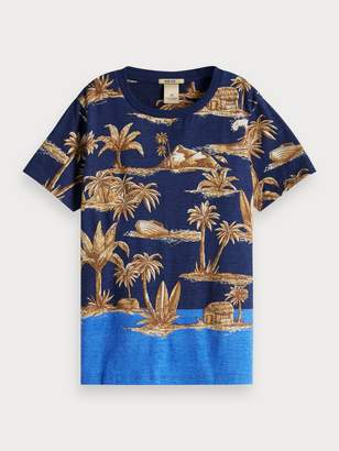 Scotch & Soda Tropical T-Shirt
