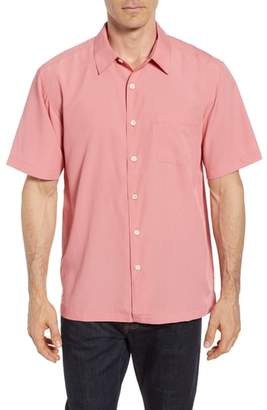 Quiksilver Waterman Collection Cane Island Classic Fit Camp Shirt