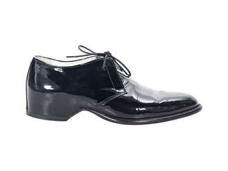 Maison Margiela Black Patent leather Lace ups