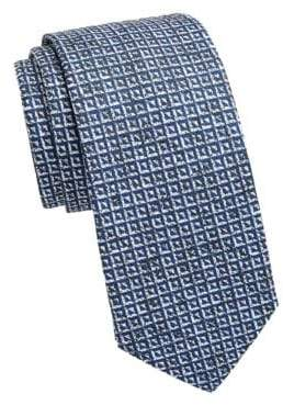 Saks Fifth Avenue COLLECTION Inverse Triangle Tie