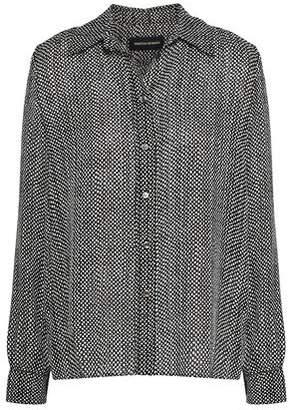Vanessa Seward Printed Silk Shirt