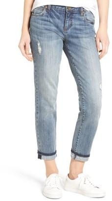 Women's Kut From The Kloth Uma Stretch Boyfriend Jeans $89 thestylecure.com