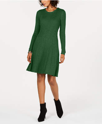 Jessica Howard Ribbed Sweater Dress