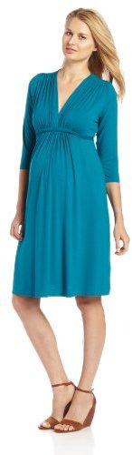 Olian Women's Maternity Solid Dress