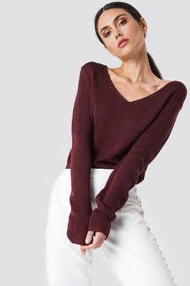 Rut & Circle Rut&Circle Ninni V-neck Knit White