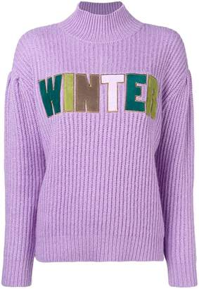 Manoush Winter knitted sweater