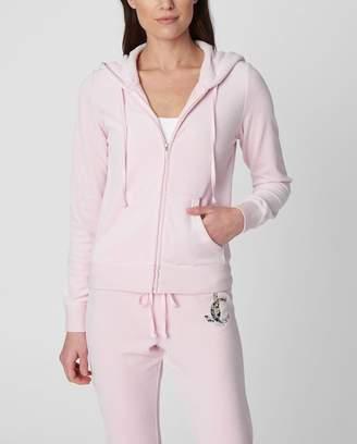 Juicy Couture Luxe Sequin JC Velour Robertson Jacket