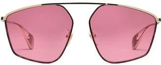 4d4a894d83c Gucci Specialized fit square-frame sunglasses