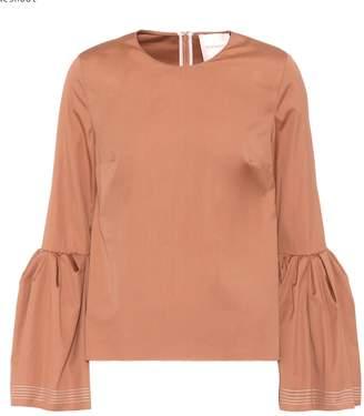 Roksanda Truffant cotton top