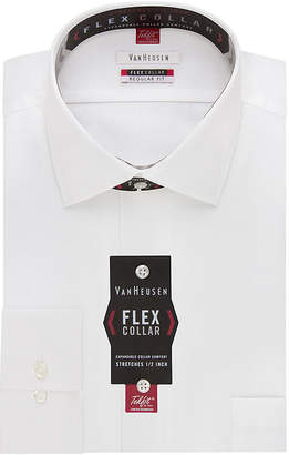 Van Heusen Long-Sleeve Flex Collar Reg Fit Dress Shirt
