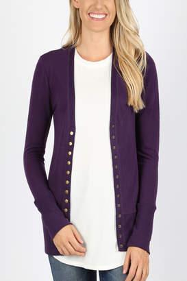 Zenna Snap Button Sweater