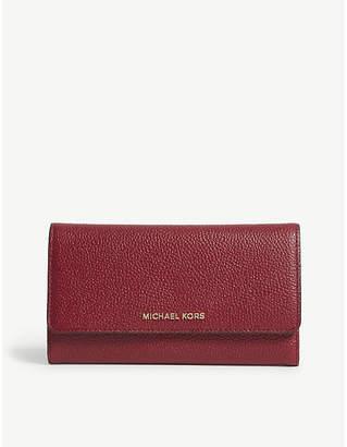 71d56c5613a8 at Selfridges · MICHAEL Michael Kors Money Pieces grained leather trifold  wallet