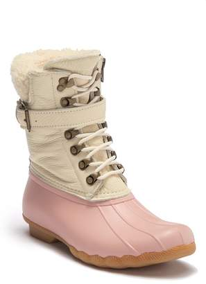 Sperry Shearwater Shearling Water-Resistant Boot