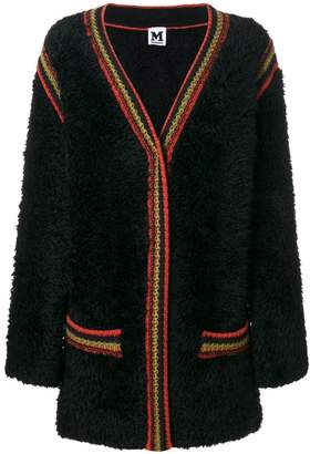M Missoni furry cardi-coat