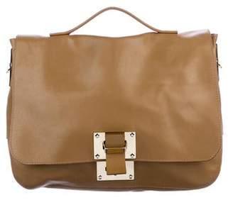 Sophie Hulme Leather Soft Flap Bag
