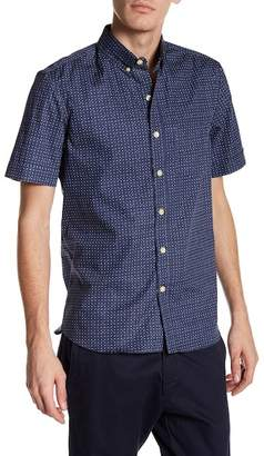 Kennington Polka Dot Short Sleeve Woven Shirt