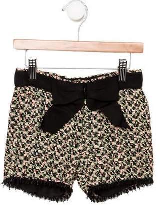 Lanvin Petite Girls' Bouclé Shorts w/ Tags