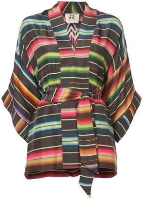 Figue Tokiko striped kimono