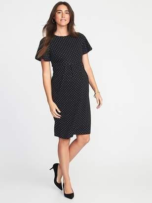 Old Navy Maternity Ponte-Knit Sheath Dress