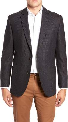FLYNT Regular Fit Wool & Silk Blend Sport Coat