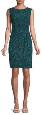 Anne Klein Printed Sleeveless Dress