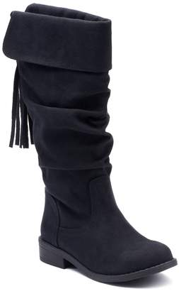 So SO Dixie Girls' Knee High Boots