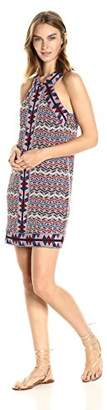 BCBGMAXAZRIA Azria Women's Tesa Halter Knit City Dress