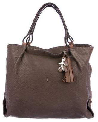 Henry Beguelin Leather Shoulder Tote