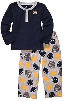 Carter's Football 2-pc. Pajamas - Boys 2t-5t