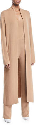 Gabriela Hearst Lorona Thin Cashmere Open-Front Duster Cardigan
