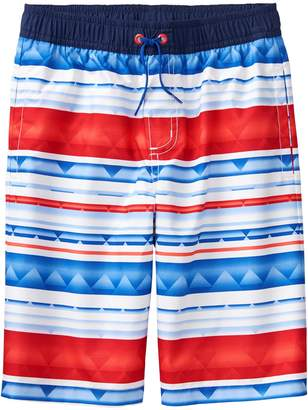 Crazy 8 Crazy8 Stripe Swim Trunks