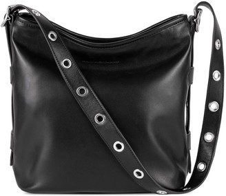 Aimee Kestenberg Buckle Up Leather Bucket HoboBag