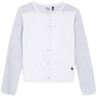 3 Pommes Girl's 3L18044 Cardigan,(Manufacturer Size: 3A/4A)