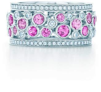 Tiffany & Co. Cobblestone wide band ring