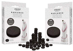 Homedics Radiance Micro-Dermabrasion Set of 200Refill Filters