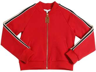 Little Marc Jacobs Zip-up Milano Jersey Sweatshirt