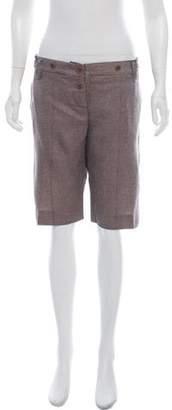 Chloé Silk-Blend Mid-Rise Shorts