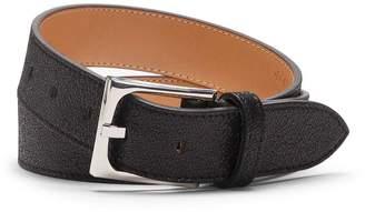 Donald J Pliner FRANNI, Crackled Metallic Leather Belt