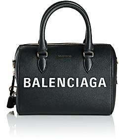 Balenciaga Women's Ville Leather Satchel - Black