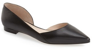 Women's Marc Fisher Ltd 'Sunny' Half D'Orsay Flat $129.95 thestylecure.com