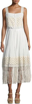 Loveshackfancy Eve Eyelet Cotton Maxi Dress, White $345 thestylecure.com