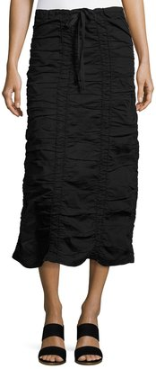 XCVI Ruched Drawstring Skirt $99 thestylecure.com