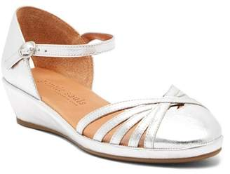 Gentle Souls Naira Ankle Strap Wedge Sandal