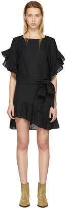 Etoile Isabel Marant Black Delicia Dress