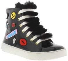Sam Edelman Girl's Hiedi Hi-Top Sneakers