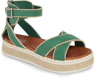 Mia Vita Espadrille Platform Sandal