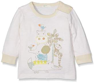 Benetton Baby Boys 0-24m T-Shirt, (Manufacturer Size:68)